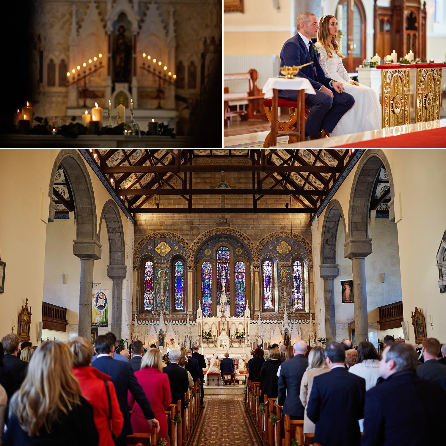 Rosaleen & Joseph's wedding in Kilrush followed by reception in Bunratty Castle Hotel